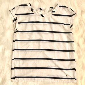 ABERCROMBIE & FITCH XS Striped Top
